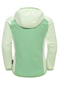 Jack Wolfskin - Zip-up hoodie - green sea - 1