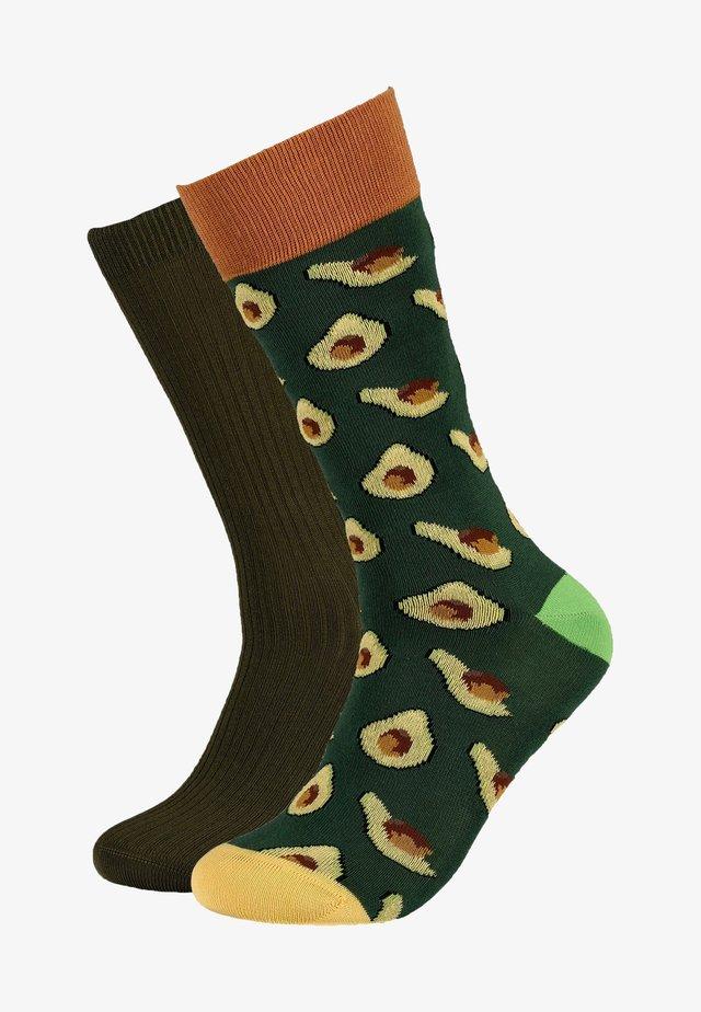 DOPPELPACK - Socks - green