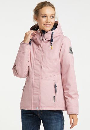 Winter jacket - altrosa melange