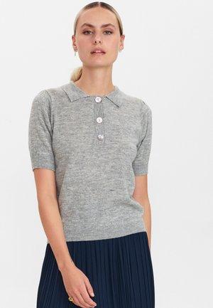 NUCARYS SS  - Pullover - light grey mel