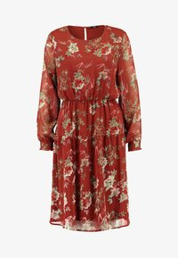 ONLY - ONLCLEO KNEE SMOCK DRESS - Day dress - picante - 4