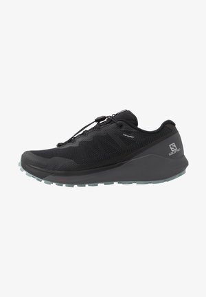 SENSE RIDE 3 - Trail running shoes - black/ebony/lead