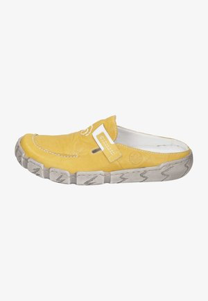 Clogs - yellow/gelb