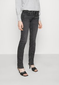 Pepe Jeans - SATURN - Straight leg jeans - black denim - 0