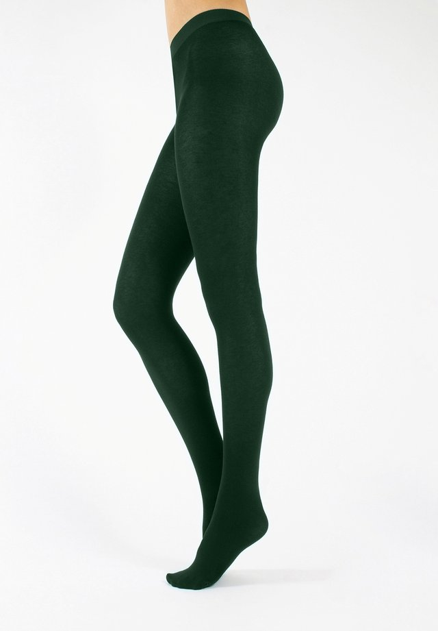Tights - emerald green