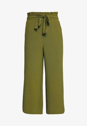 VIRASHA  - Trousers - dark olive