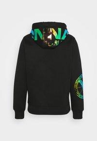 Carlo Colucci - UNISEX - Zip-up sweatshirt - black - 7