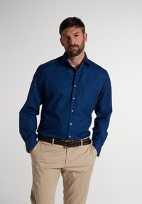 Eterna - MODERN FIT - Shirt - marine - 0