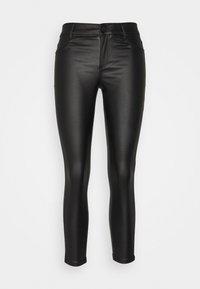 Dorothy Perkins Petite - COATED FRANKIE - Jeans Skinny Fit - black - 0