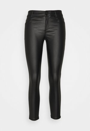 COATED FRANKIE - Jeans Skinny - black
