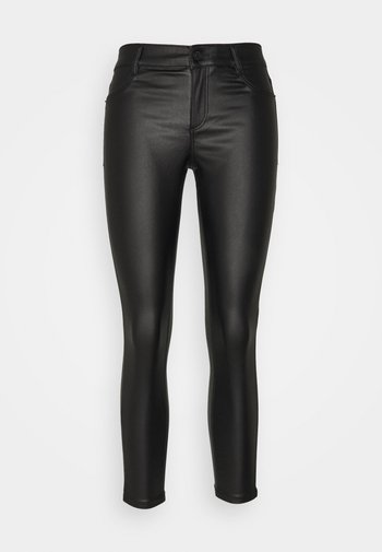 COATED FRANKIE - Jeans Skinny Fit - black