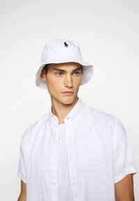 Polo Ralph Lauren - BUCKET HAT - Hatt - white - 1