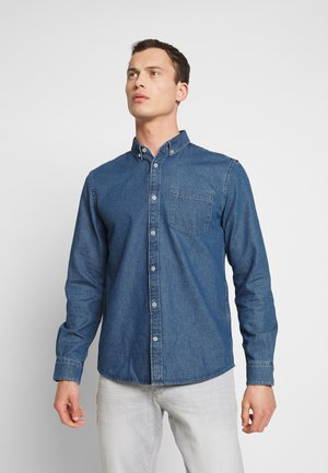 RAY - Shirt - mid stone wash denim blue
