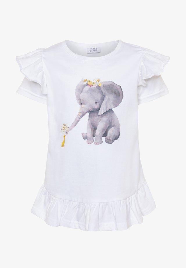 ATHENA - T-shirts print - white