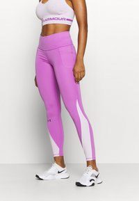 Under Armour - RUSH LEGGING - Medias - exotic bloom - 0