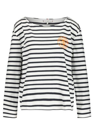 Long sleeved top - marine/weiß (943)