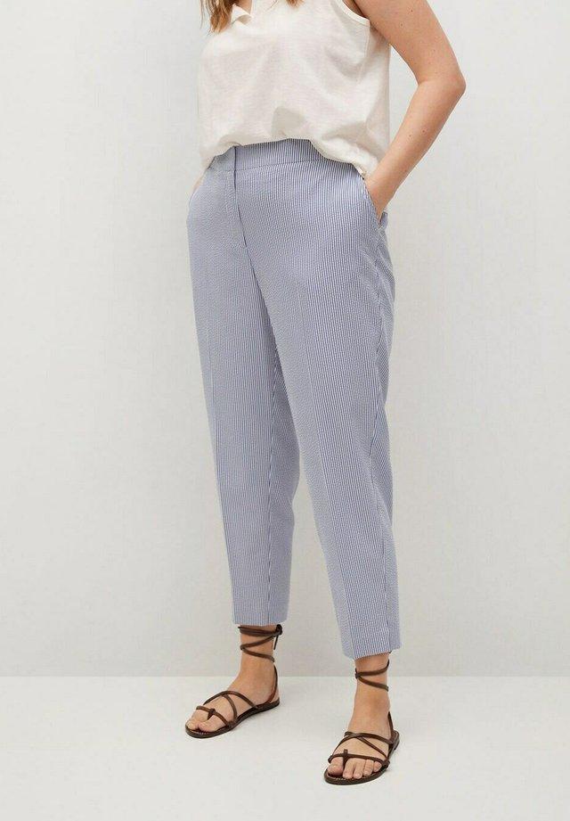 COLI - Chino kalhoty - blau