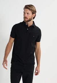 Tommy Hilfiger - PERFORMANCE SLIM FIT - Piké - black - 0