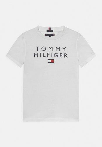 LOGO TEE - T-shirt z nadrukiem - white
