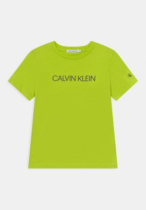 INSTITUTIONAL - T-shirts print - acid lime