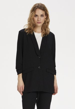 Blazer - black pinstripe