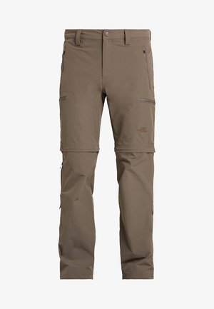EXPLORATION CONVERTIBLE PANT - Friluftsbukser - weimaraner brown