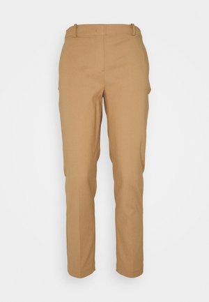 Trousers - true camel