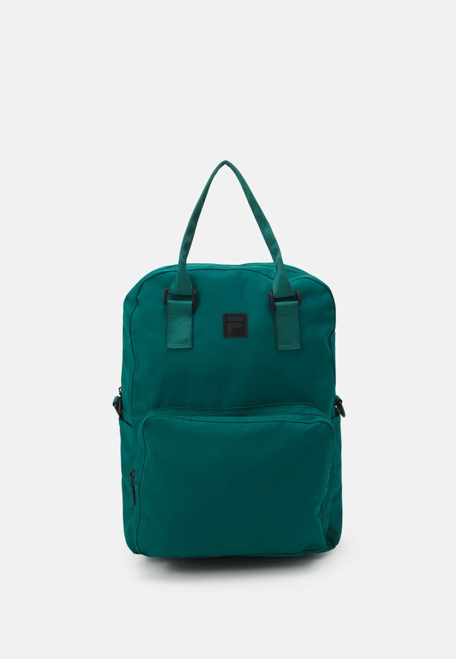 COATED CONVERTIBLE MID BACKPACK UNISEX - Batoh - storm
