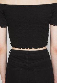 Glamorous - BARDOT 2 PACK - Basic T-shirt - black/red - 7