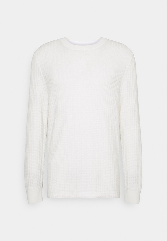 M. CLIVE SWEATER - Svetr - white chal