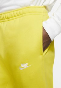 Nike Sportswear - CLUB - Tracksuit bottoms - opti yellow/opti yellow/white - 3