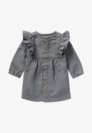 Denim dress - grey denim