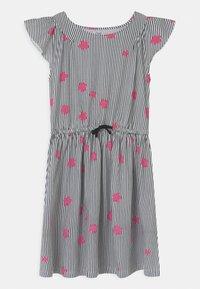 OVS - DRESS WITH STRIPES - Jersey dress - black beauty - 0