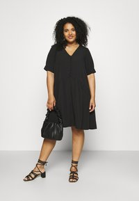 Pieces Curve - PCGENEVA DRESS CURVE - Day dress - black - 1
