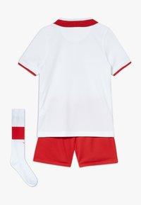 Nike Performance - POLEN LK NK BRT KIT HM SET - Club wear - white/red - 1