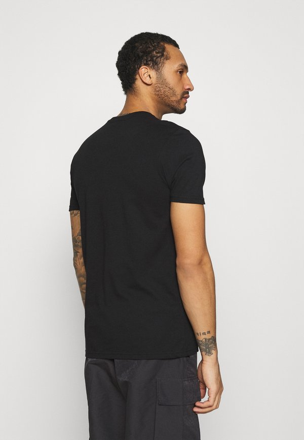 Ellesse MAVOZ - T-shirt z nadrukiem - black/czarny Odzież Męska MRHW