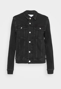 Calvin Klein Jeans - REGULAR - Cowboyjakker - denim black - 4