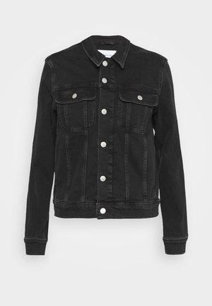 REGULAR - Denim jacket - denim black
