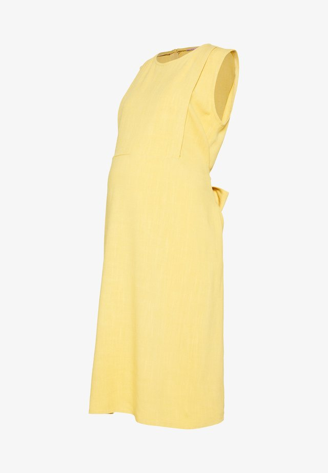 DRESS INDIA - Vapaa-ajan mekko - yellow