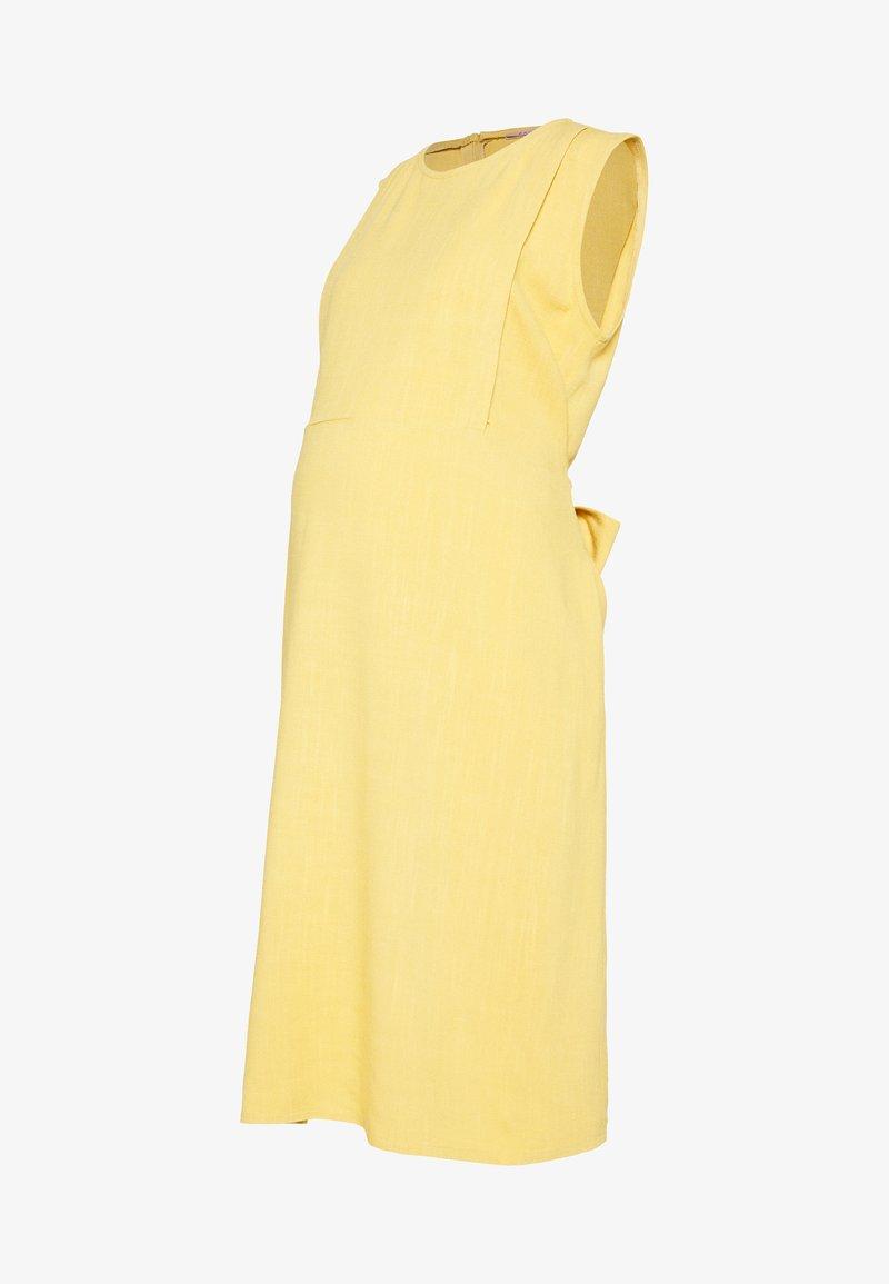 Paula Janz Maternity - DRESS INDIA - Denní šaty - yellow