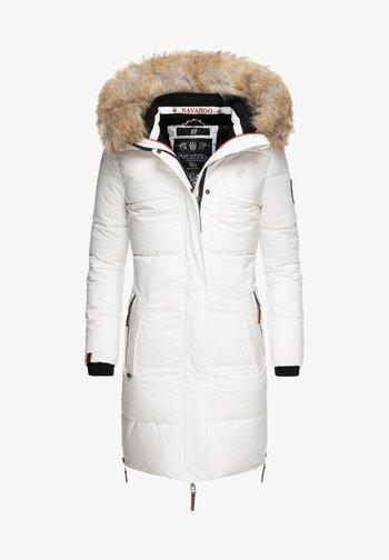 HALINA - Winter coat - white