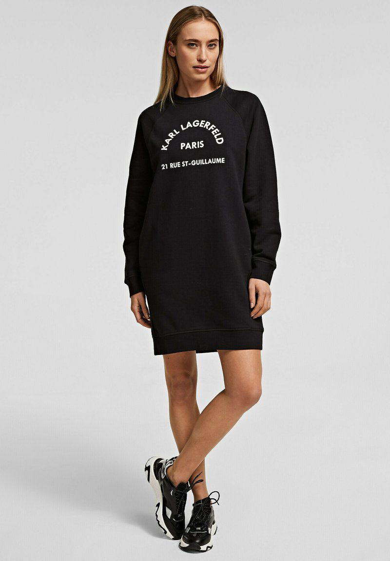 KARL LAGERFELD - Denní šaty - black
