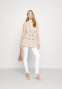 ONLY - ONLIVY WAISTCOAT  - Waistcoat - beige - 1