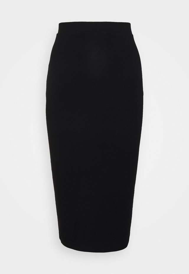 TALL TUBE SKIRT - Jupe crayon - black