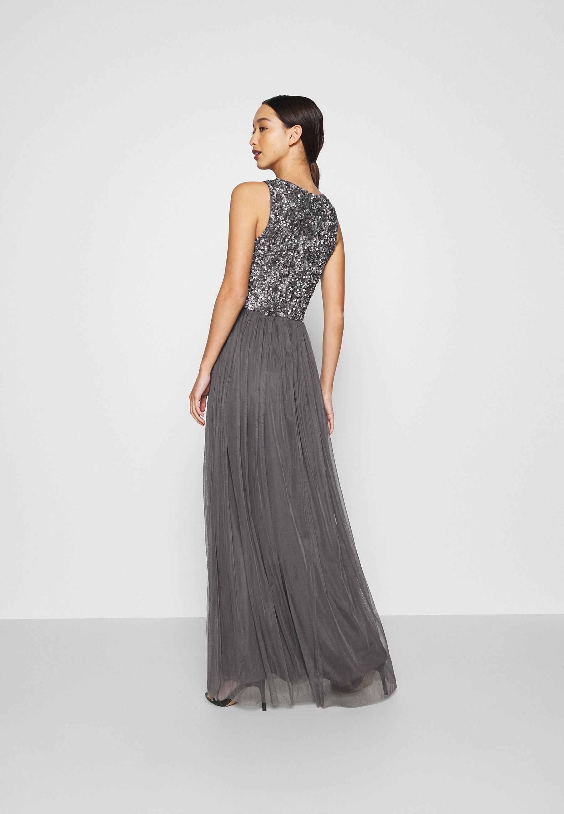 Lace & Beads PICASSO MAXI Ballkleid charcaol/dunkelgrau