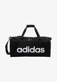 adidas Performance - LIN CORE  - Sports bag - black/white - 6