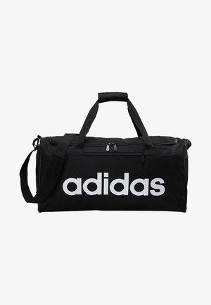 LIN CORE  - Sports bag - black/white
