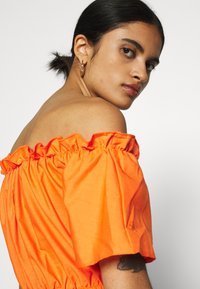 Missguided - BARDOT SKATER DRESS - Kjole - orange - 3