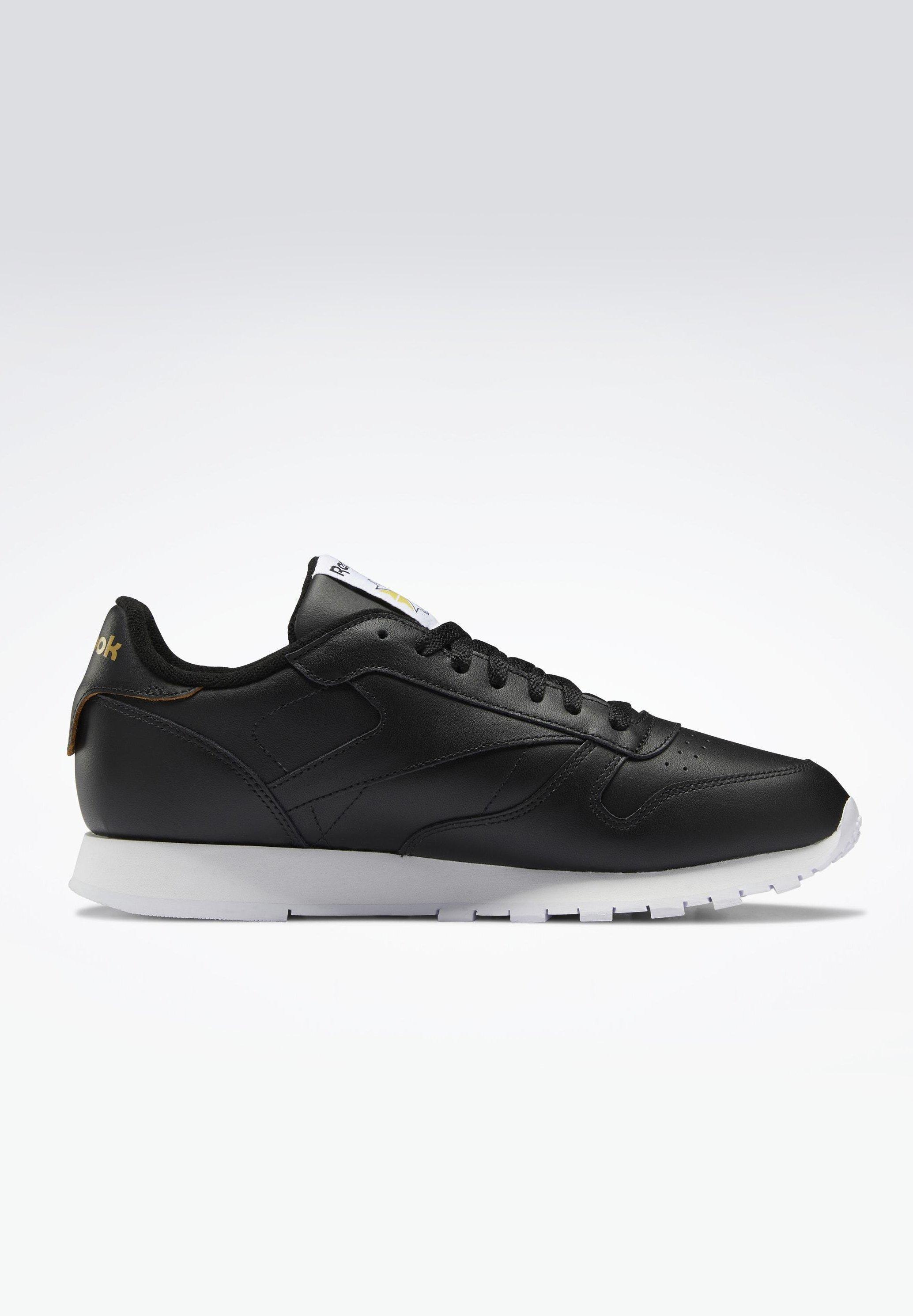 Reebok Classic CLASSIC LEATHER SHOES - Sneaker low - black/schwarz - Herrenschuhe YvEIr