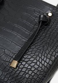 New Look - MINI TOTE - Handbag - black - 3